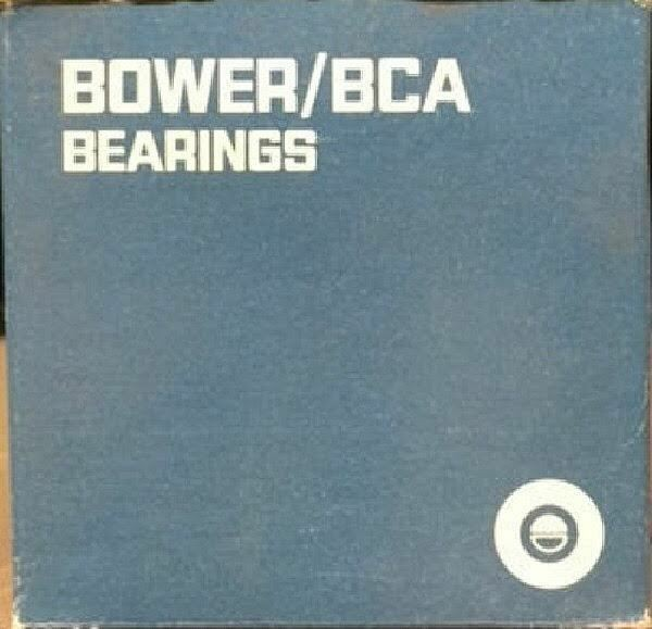 BOWER 37625B TAPERED ROLLER BEARING