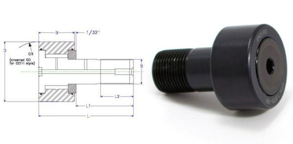 Enduro CFH 2.75 SB cam follower bearing RBC H88LW heavy stud HD McGill CFH23/4SB