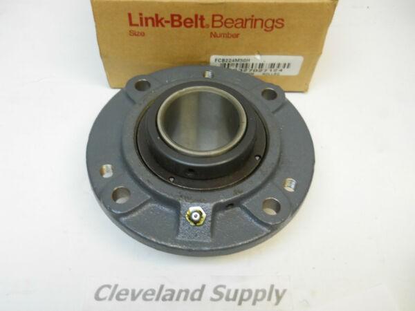 LINK BELT FCB224M50H FLANGE TYPE PILLOW BLOCK BEARING 50MM BORE NEW IN BOX