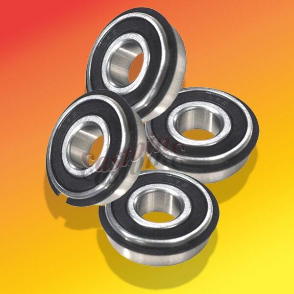 4 Wheel Bearing fit  John Deere # AM102888,  AM131046, AM137758 & 6205-2RSNR.