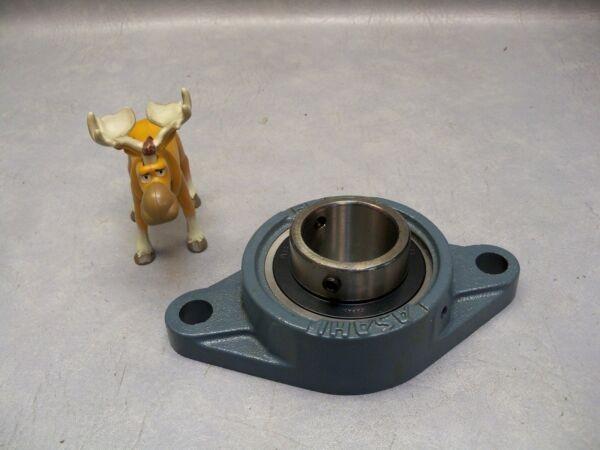 Asahi FL208 2-Bolt Flange Housing w/ UC208 Bearings Insert 40mm Bore