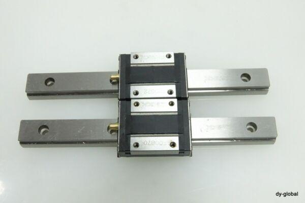 THK Used RSR15ZMUU+150L 2Rails, 2Blocks LM Guide Linear bearing LMG-I-210=1M34