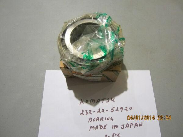 Komatsu 232-22-52920 Bearing Genuine