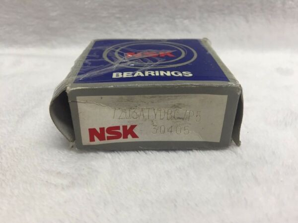 NSK 7203ATYBDC7P5 Angular Contact Ball Bearing Set of 2 17x40x12