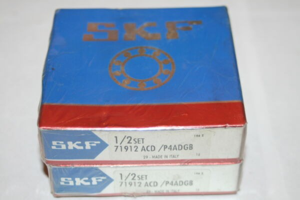 SKF 71912 ACD/P4ADGB Super Precision Angular Contact Bearings * NEW *