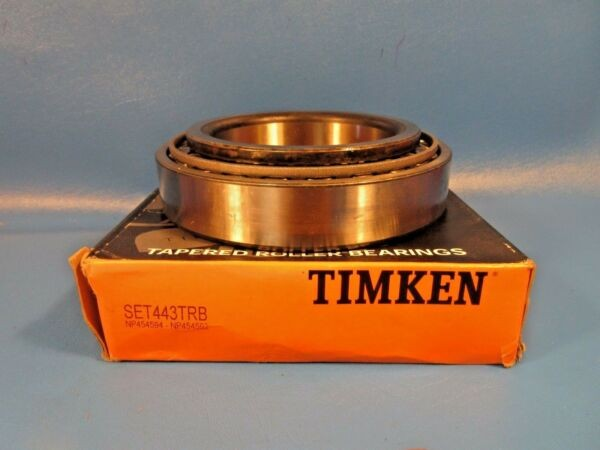Timken Set443, 443TBR, Tapered Roller Bearing Cone & Cup Set