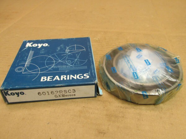 NIB KOYO 60162RSC3 BEARING RUBBER SEALED 6016 2RS C3 60162RS 80x125x22 mm