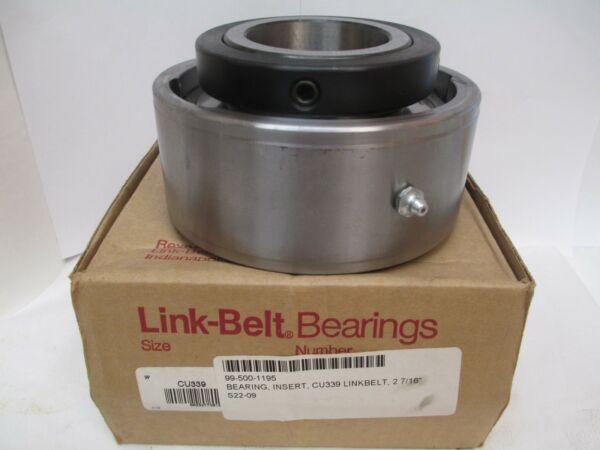NEW LINK-BELT INSERT BEARING CU339 2-7/16