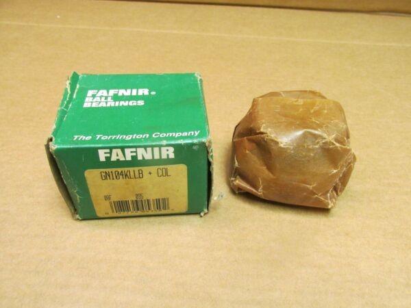 FAFNIR GN104KLLB + COL BEARING IONSERT w/ collar GN 104 KLLB 1-1/4
