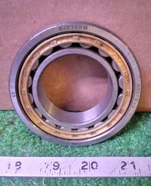 1 NEW ROLLWAY NJ210EM CYLINDRICAL ROLLER BEARING NNB *** MAKE OFFER ***