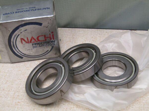 Nachi 35TAB07  P4 Matched Set Of Three Angular Contact Bearings 35mmx72mmx15mm
