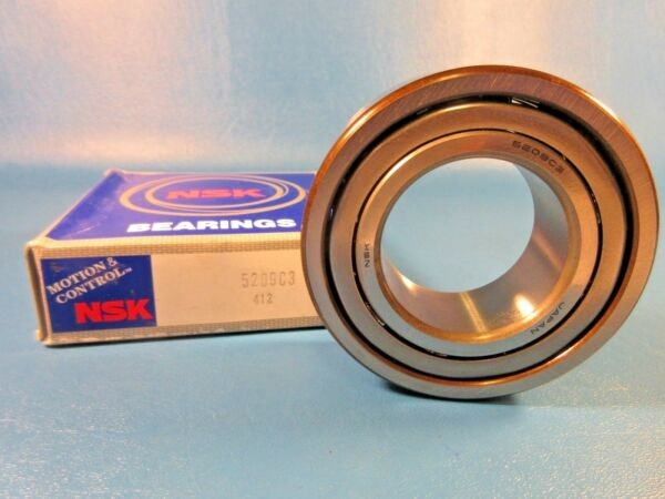 NSK 5209C3, 5209/C3  Double Row Ball Bearing, Japan (SKF, FAG, MRC)