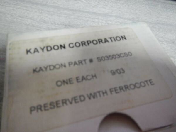 KAYDON ULTRA-SLIM RADIAL BALL BEARING S03503CS0