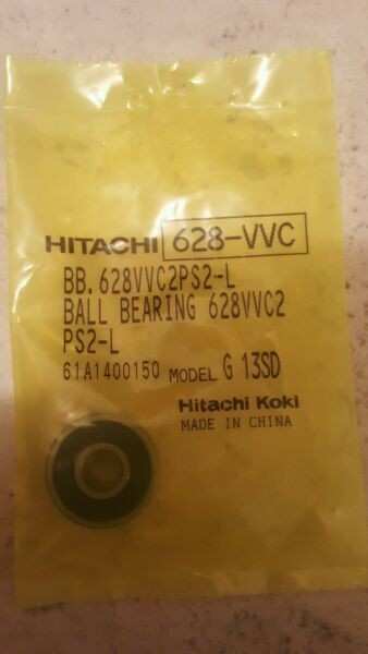 HITACHI 628-VVC BALL BEARING 628VVC2PS2-L FOR ANGLE GRINDER
