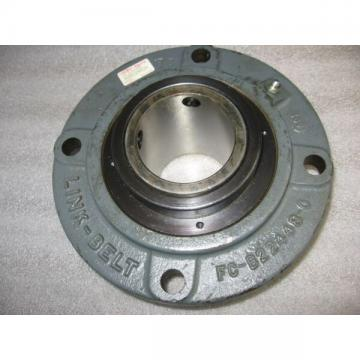 "Link-Belt Rexnord FCB22443H 4-Bolt Piloted 2-11/16"" Mounted Flanged Bearing Unit"