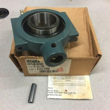 NEW IN BOX DODGE FLANGE BEARING NSTUSXR203