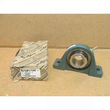 "NIB DODGE P2B-GTH-111-E 2 BOLT PILLOW BLOCK BEARING UNIT 130693 1-11/16"" ID USA"