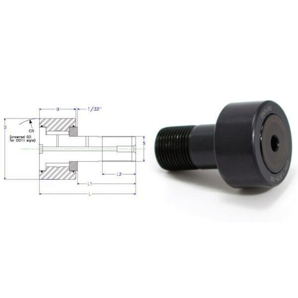 Enduro CFH 2.75 SB cam follower bearing RBC H88LW heavy stud HD McGill CFH23/4SB #1 image