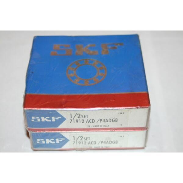 SKF 71912 ACD/P4ADGB Super Precision Angular Contact Bearings * NEW * #1 image